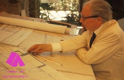 فرانک لوید رایت معمار مشهور و نوین آمریکایی