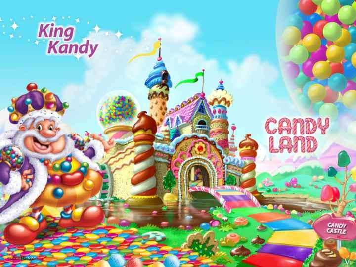 بهترین برد گیم های دنیا - کندی لند (Candy Land)