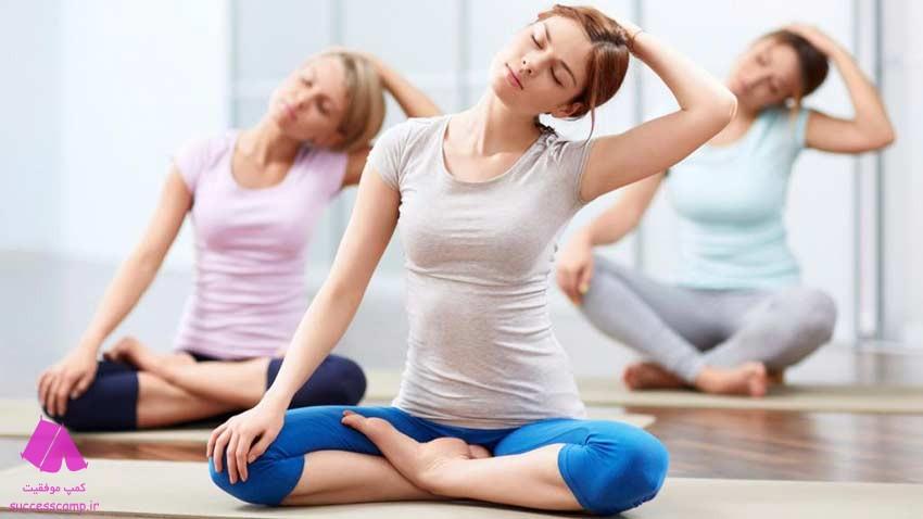 حرکات یوگا در دوران قاعدگی - یوگا در پریود